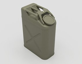 3D printable model US Army WW2 Jerry Can