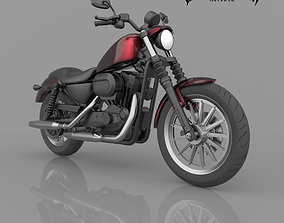 Harley-Davidson Sportster Iron 883 XL Motorcycle For 2