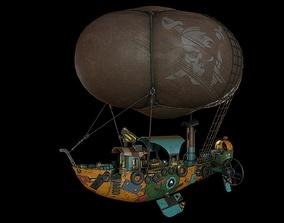 3D model AirShip steampunk