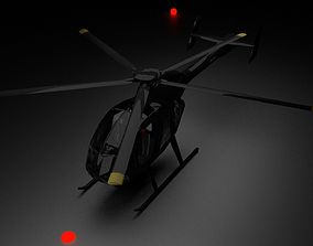 Rogue Assassin helicopter 3D model