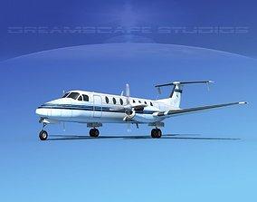 Beechcraft B1900C V03 3D