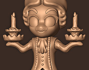 3D printable model LUMIERE BEAUTY AND THE BEAST
