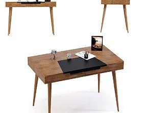 Writing Desk Happy Stay 110x60cm 3D model
