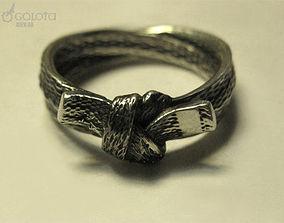 3D printable model kung-fu Karate Belt Ring 9s