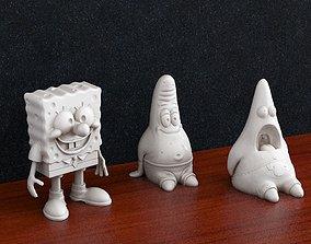 3D printable model spongebob squarepants