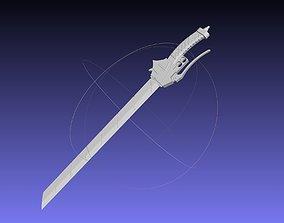 cosplay Attack On Titan Sword Basic Printable Replica