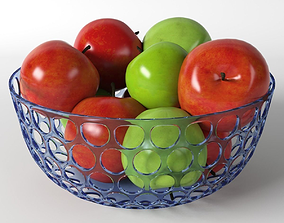 3D Apples in vase