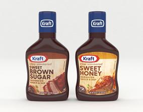 Kraft Barbecue Sauce and Dip 3D