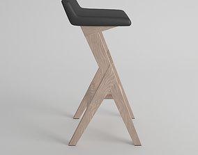 3D model Homify Bar Stool