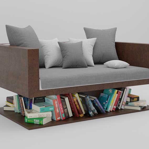 Floating Sofa 3D model