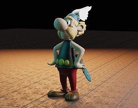 3D printable model Asterix el Galo