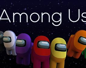 Among Us 3D Pack VR / AR ready