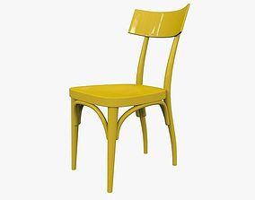 Chair Thonet Hermann Czech 3D model
