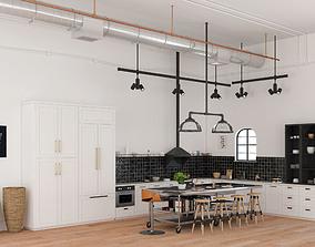 Kitchen Magnolia vrayforc4d 3D model