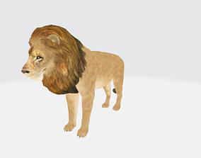 Lion 3D Animation animated