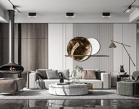 3D print model Modern living room