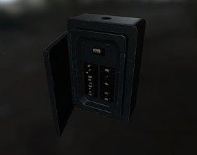 Old Circuit Breaker 3D asset