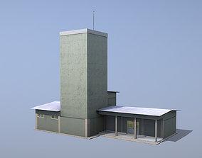 MilitaryBase PortoVelho ControlRoom 3D model
