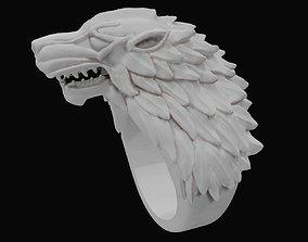 house stark ring 3D print model