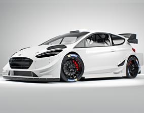 FORD fiesta WRC 2020 3D
