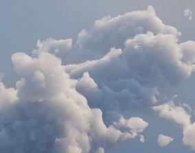 3D model Cloud Polygon Blender 4