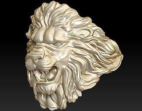 3D printable model lion ring light