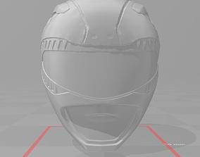 mighty Power rangers 3d file Helmet Red ranger