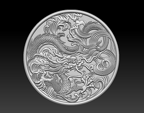 3D print model stl dragon