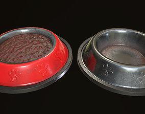 Dog Food Bowl 3D asset