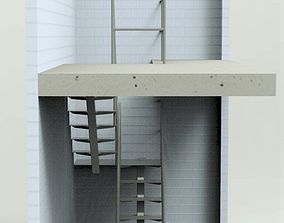 3D model Stairs elevation