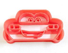 Cars Lightning McQueen Cookie Cutter 3D print model