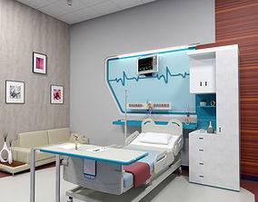 patient room 3D