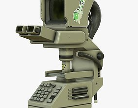 Sci-Fi Microscope 3D model