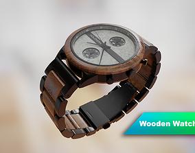 3D Wooden watch - Holzkern