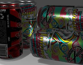 Ninja Beer 3D asset