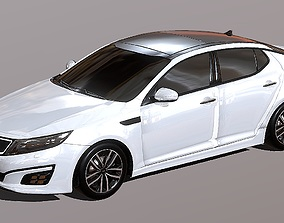 Auto sedan KIA Optima 3D Model realtime