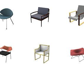 3D Arm Chair Collection sofa