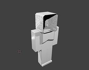 Armor For Minecraft Zarya 3D asset