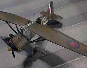 3D Westland Lysander Mk-1