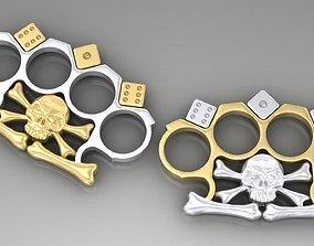 knuckles 3D print model Brass Knuckles