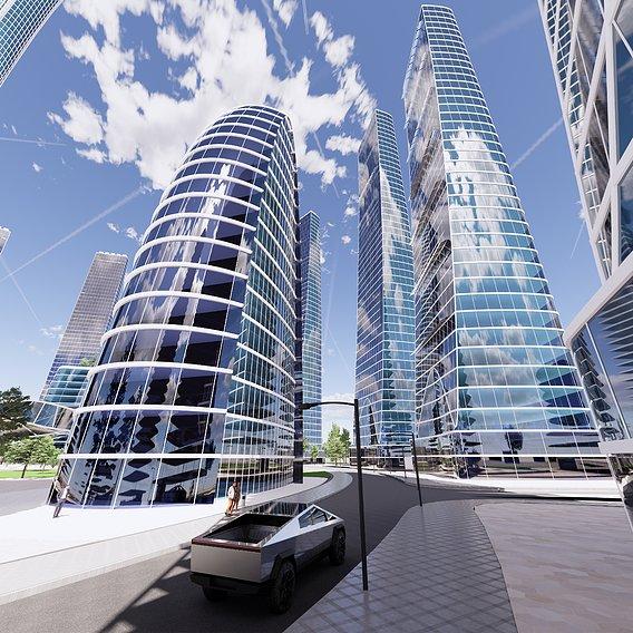Individual concept city design