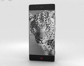 3D model ZTE Nubia Z9 Black
