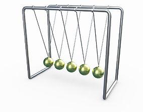 Newtons Cradle balls 3D
