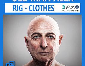 Old Man Alex 3D