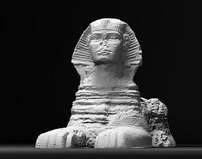 3D The Great Sphinx of Giza