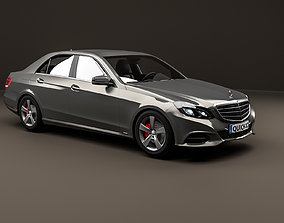 Mercedes Benz E Class HQ LowPoly 3D model