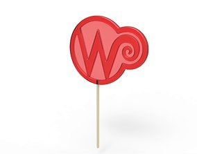 3D print model Wonka lollipop from Charlie and the 2