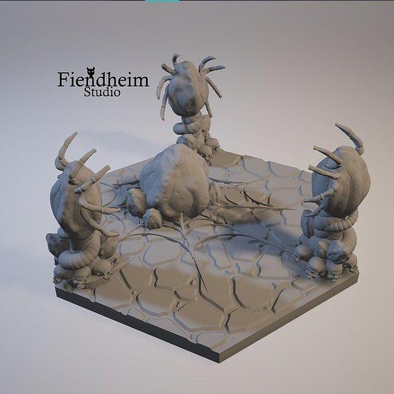 Demonweb Showcase - Miniatures Display