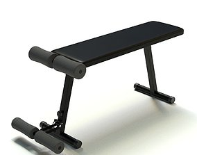 Weight Bench 3D training