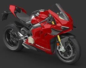 3D model Ducati Panigale V4 R VRay PBR